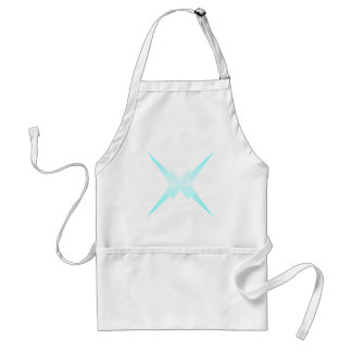 Crossed Lightning Standard Apron
