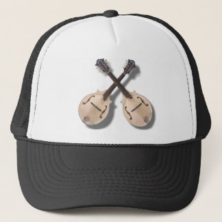 CROSSED MANDOLINS -HAT TRUCKER HAT
