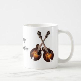 CROSSED MANDOLINS-MUG COFFEE MUG