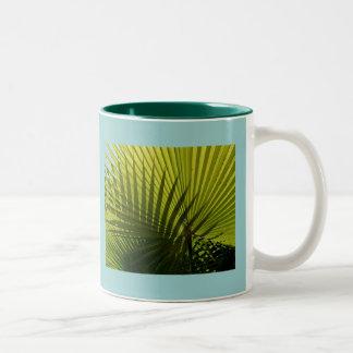 Crossed palms Mug