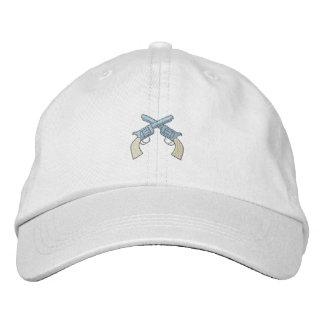 Crossed Pistols Embroidered Cap