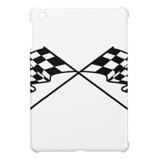 Crossed Racing Flags iPad Mini Covers