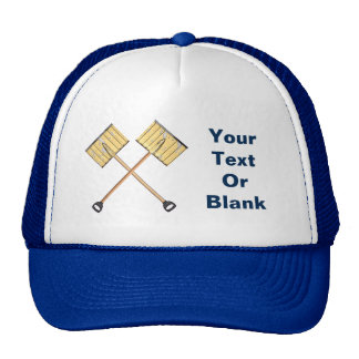 Crossed Snow Shovels Trucker Hat