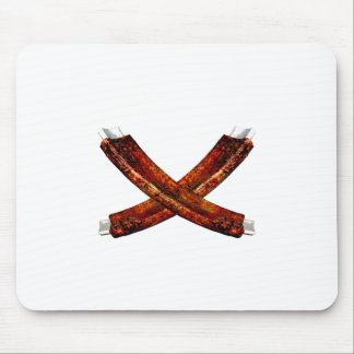 Crossed Spare Ribs Mouse Pads