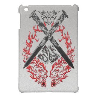 Crossed Swords Dragon Cover For The iPad Mini