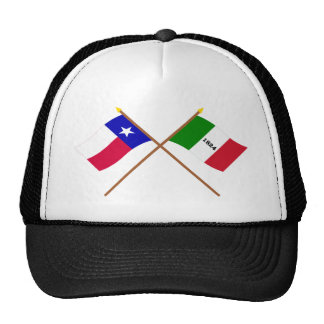 Crossed Texas and Alamo Flags Cap