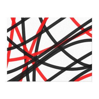 Crossed The Line Canvas Print