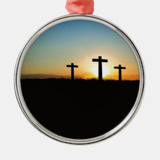 Crosses Christmas Ornament