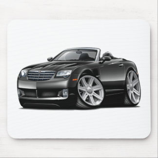 Crossfire Black Convertible Mouse Pad