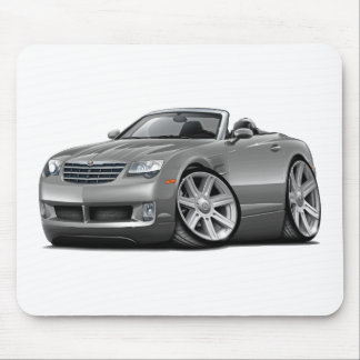 Crossfire Grey Convertible Mouse Pad