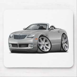 Crossfire Silver Convertible Mouse Pad