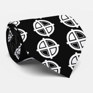 Crosshair Centers Icon Tie