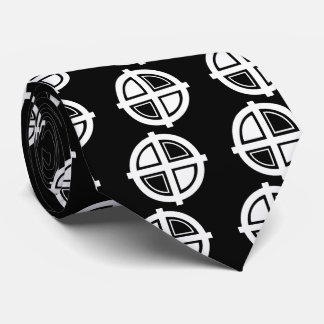 Crosshair Centres Icon Tie