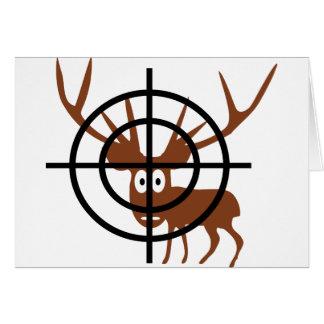 Crosshair Deer Cards