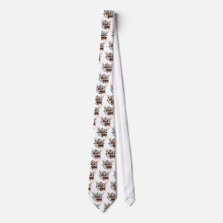 Crosshair Deer Tie
