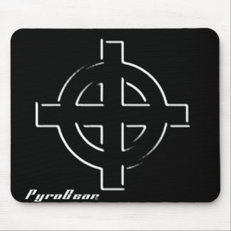 crosshair mouse pad