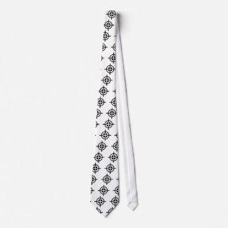 Crosshairs gun tie