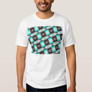 Crosshatch Pattern T Shirts
