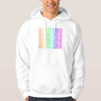 Crosshatch Rainbow Hoody