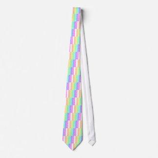 Crosshatch Rainbow Tie