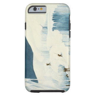 Crossing a Ravine, from 'A Narrative of an Ascent Tough iPhone 6 Case