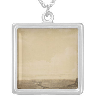 Crossing, Colorado River near Paria Creek Silver Plated Necklace