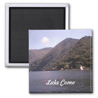 Crossing Lake Como Magnet