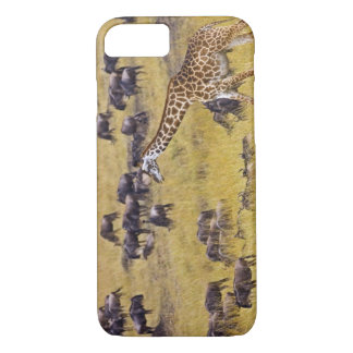 Crossing of the Mara River by Giraffes and iPhone 8/7 Case