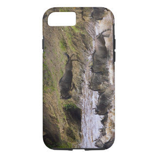 Crossing of the Mara River by Zebras and iPhone 8/7 Case