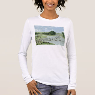 Crossing of the San Joaquin River, Paraguay, 1865 Long Sleeve T-Shirt