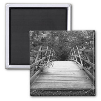 Crossing Over (b&w) Magnet