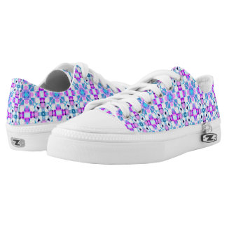 crossing paths printed shoes
