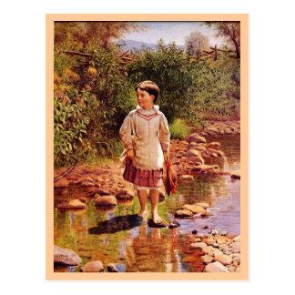 Crossing the Brook Postcard