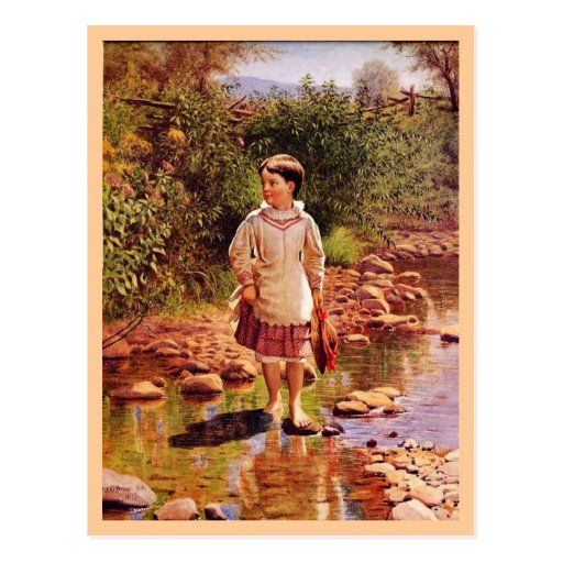 Crossing the Brook Postcards