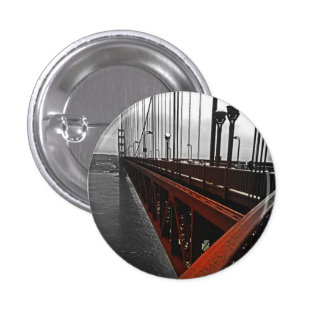 Crossing the Golden Gate 3 Cm Round Badge
