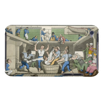 Crossing the Line, plate from 'The Adventures of J Barely There iPod Cover