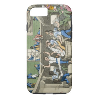 Crossing the Line, plate from 'The Adventures of J iPhone 8/7 Case