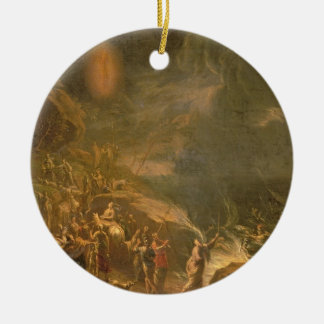 Crossing the Red Sea Christmas Ornament