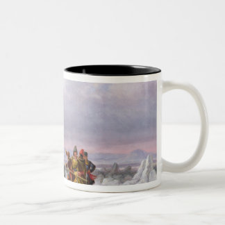 Crossing the St. Lawrence Two-Tone Coffee Mug