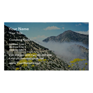 Crossing Tizi n'Test pass, Atlas Mountains, Morocc Pack Of Standard Business Cards