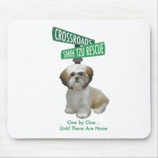 Crossroads ShihTzu Rescue Mouse Pad