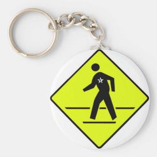 crosswalk keychain