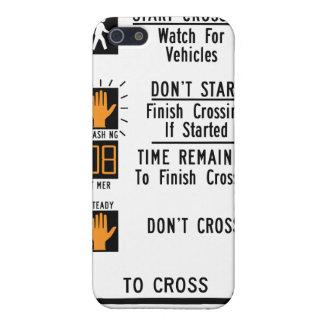 Crosswalk Sign iPhone 5/5S Cover