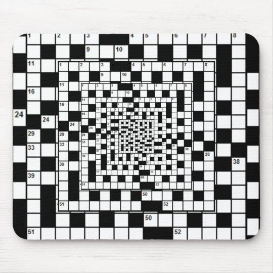 Crossweird Mousepad! Mouse Pad