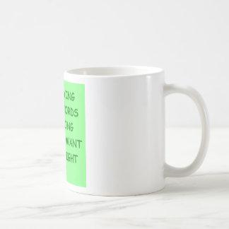 crosswords coffee mug