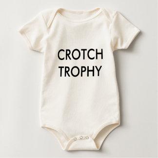 CROTCH TROPHY BABY BODYSUIT