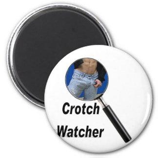 Crotch Watcher 6 Cm Round Magnet