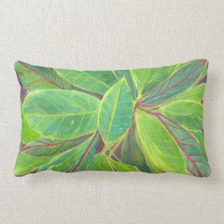 Croton Cotton Lumbar Pillow