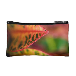 Croton Leaf Makeup Bag