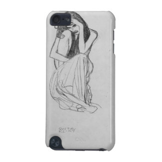 Crouching from the front by Gustav Klimt iPod Touch (5th Generation) Covers